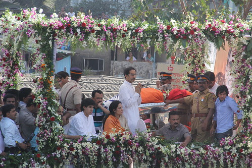 The Last Journey Of Shree Balasaheb Thackeray by firoze shakir photographerno1