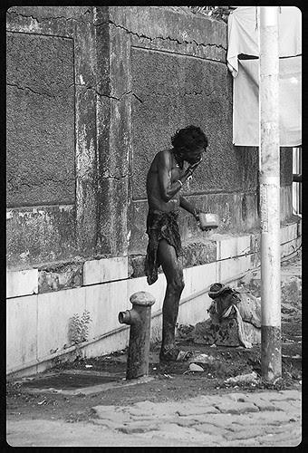The Mumbaikar  Is Waiting For Change by firoze shakir photographerno1