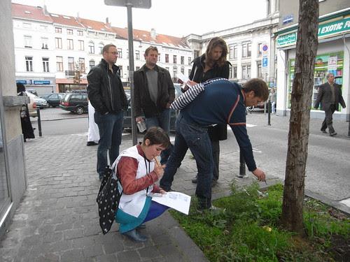 search for Urban Edibles in Molenbeek
