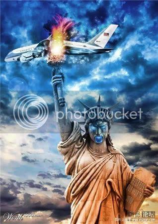 Kontes Photoshop - Mengedit  Patung Liberty