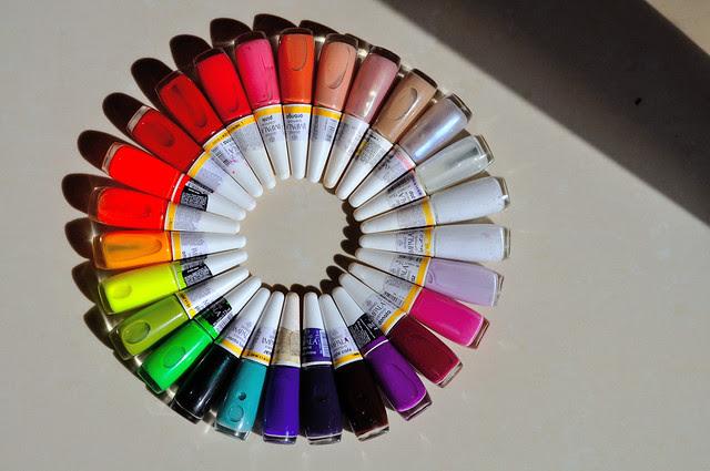 escolhendo cores