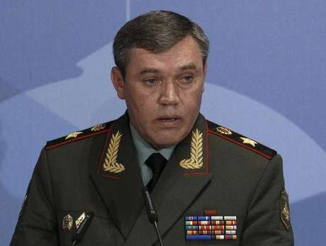 Comandante das Forças Armadas russas, Valery Gerasimov, em foto de arquivo. 23/05/2013 Foto: Sergei Karpukhin / Reuters