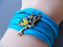 Key to My Heart Wrap Bracelet