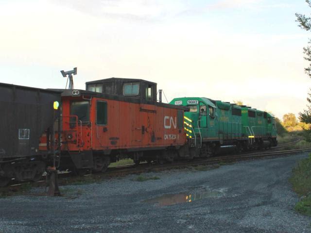 CN 79624 caboose