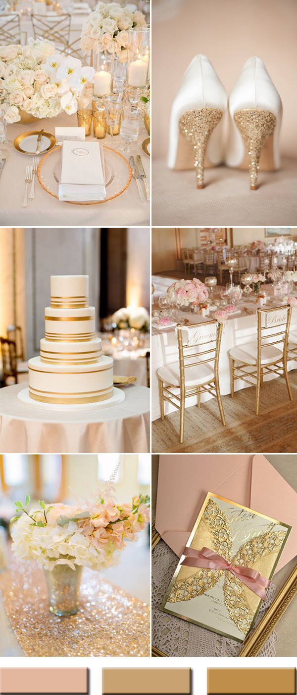 2017 the Best Gold Wedding Colors Combos Trends – Stylish ...