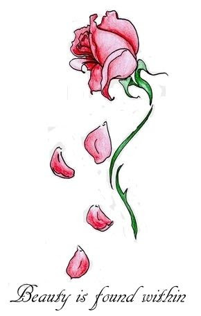 Pictures Of Rose Petals Falling From A Rose Drawing Wwwkidskunstinfo