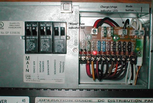 Rv Converter With Fuse Box Wiring Diagram Frankmotors Es