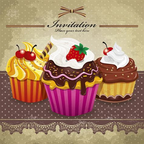 Cupcake free vector download (195 Free vector) for