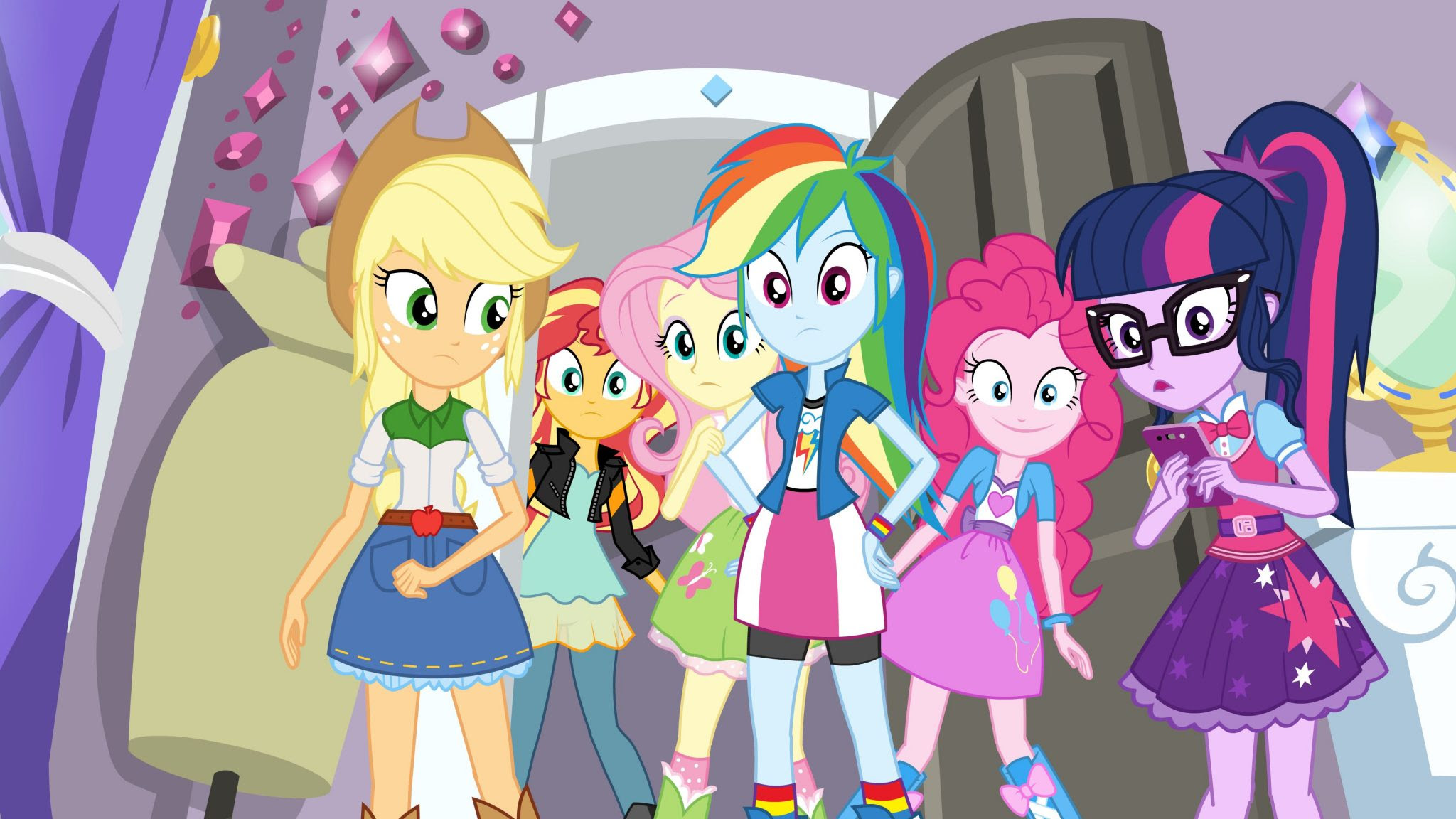 My Little Pony Equestria Girls Specials Head To Discovery Family
