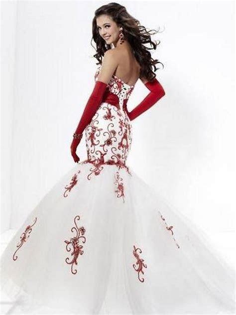 Red Wedding Dresses   DressedUpGirl.com