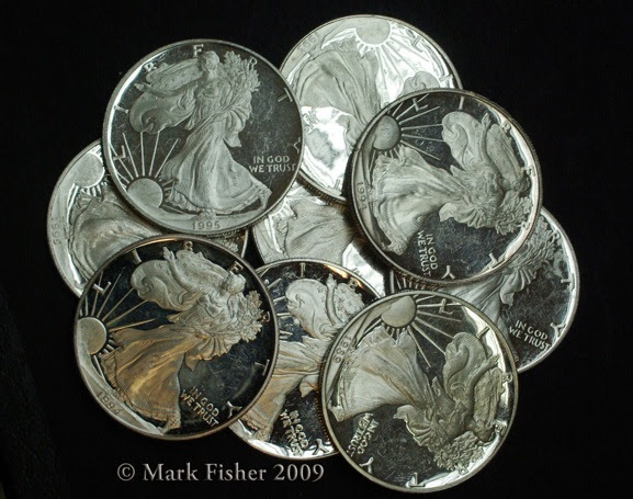 American Silver Eagle-Mark Fisher 2009-9678