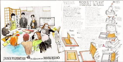 Viaje al papel artesano Japonés by aidibus