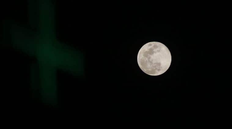 super moon, super blood blue moon, lunar eclipse, last blue moon, last blue moon tonight, blue moon tonight, indian express
