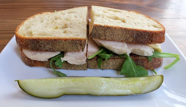 turkey sandwich, Sycamore Kitchen
