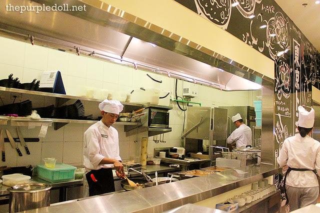 Tokyo Tonteki's Open Kitchen