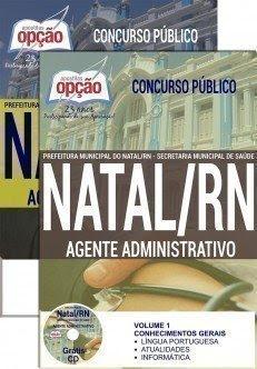 Apostila Prefeitura do Natal Agente Administrativo.