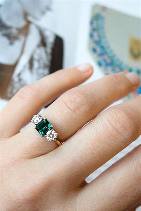 1000  ideas about Colored Engagement Rings on Pinterest