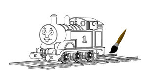 Thomas Ve Arkadaşlarını Boya Minika Oyun