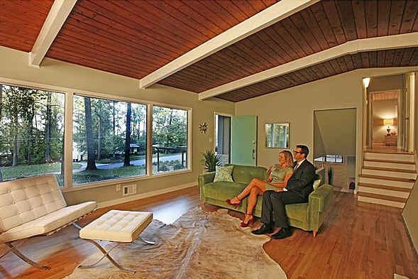 Staging a Mid-Century Modern House the Don Draper Way