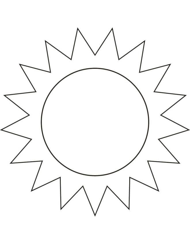 Immagine Sole Da Colorare.Sole Immagini Da Colorare Stampae Colorare
