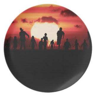 zombies on the horizon plates