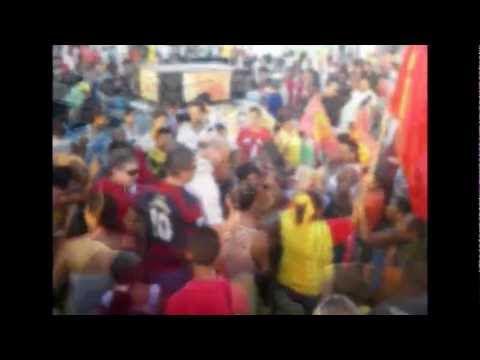 Homenagem para o prefeito Ribamar Alves e a turma do 40