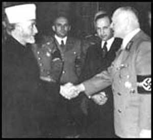 The Mufti with Nazi Officials
