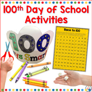 100th day of school packet K-2