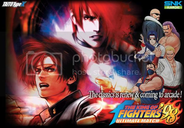 King of Fighter 98 Ultimate Match Mugen