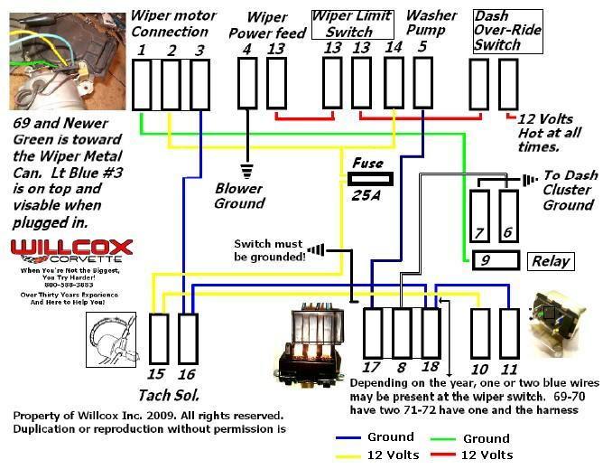 help branchement moteur essui glace