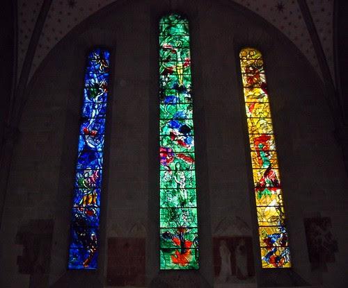 Chagall Windows @ Fraumunster