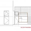 Loft Andrés Borrego / Beriot, Bernardini Arquitectos Cross Section