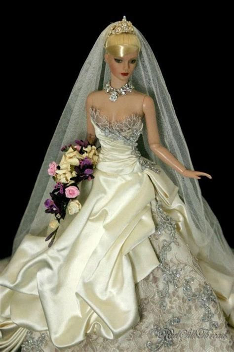 17 Best images about Wedding dresses for dolls. on