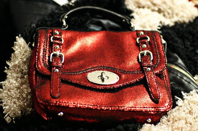 Lancaster Paris Red Disco bag, Fashion