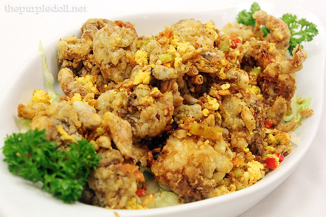 Fried Soft Shell Crab with Salt and Pepper P600 P900 P1200