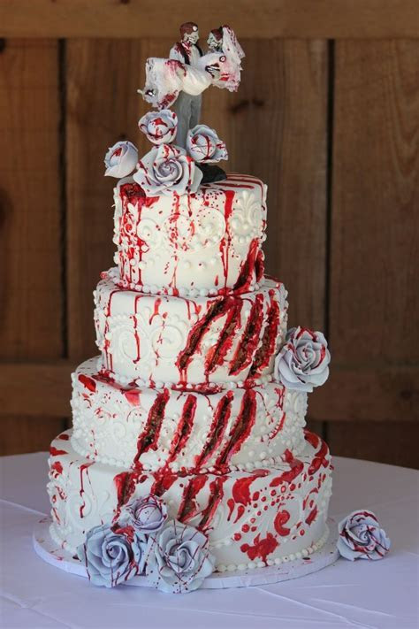 25  best ideas about Horror Cake on Pinterest   Halloween