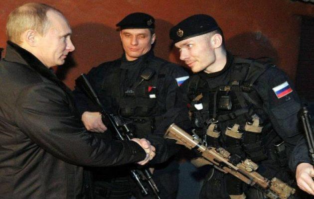 Ποιοι είναι οι κομάντος Spetsnaz που φέρνει μαζί του ο Πούτιν (βίντεο)