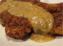 Simple Chicken Fried Pork Chops