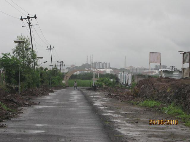 Hinjewadi IT Park from Elite Homes' Gate
