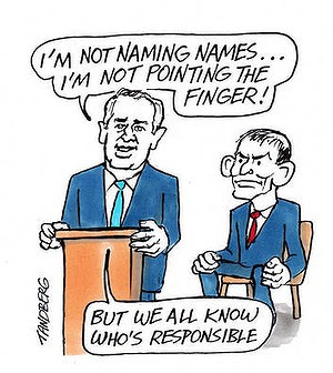 Cartoon: Ron Tandberg.