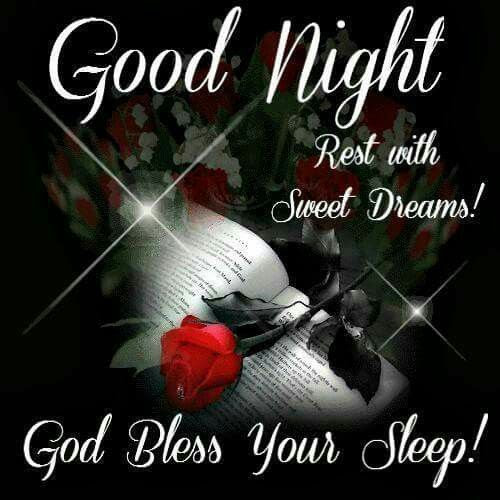 Good Night God Bless Your Sleep Pictures Photos And Images For