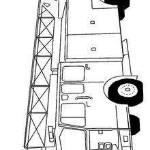 Dibujos Para Colorear Un Monster Truck Es Hellokids Com