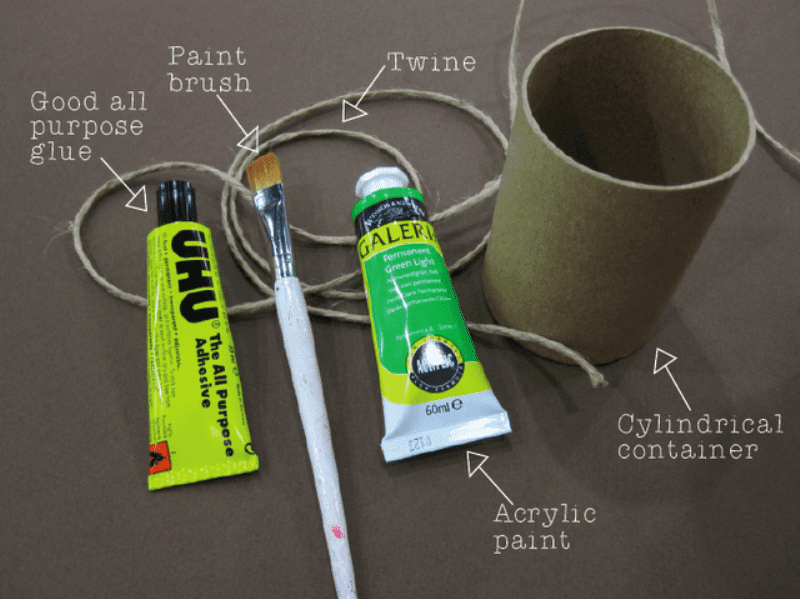 Very Simple DIY Pencil Holder | Shelterness
