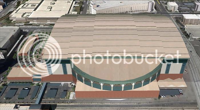 Chase Field (Arizona; Phoenix); 3D model by jjasper123