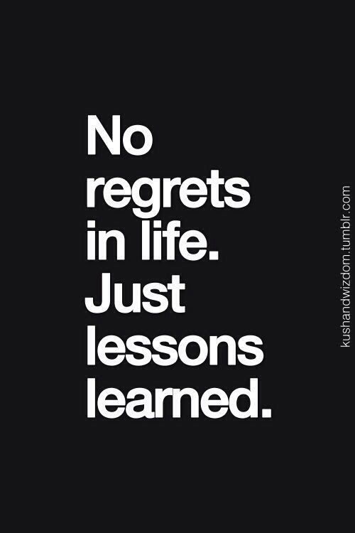 Quotes About Life Regret 153 Quotes