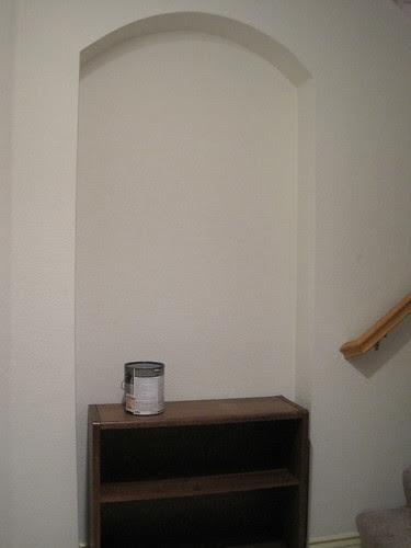 Entry Way Bookshelf