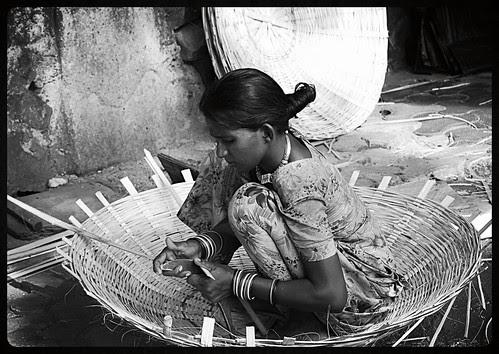 A Street Basket Full Of Dreams - Basket Weavers of Bandra Reclamation by firoze shakir photographerno1