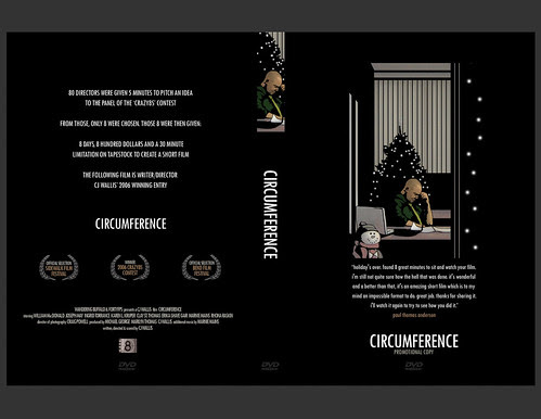 circumference promo dvd sleeve