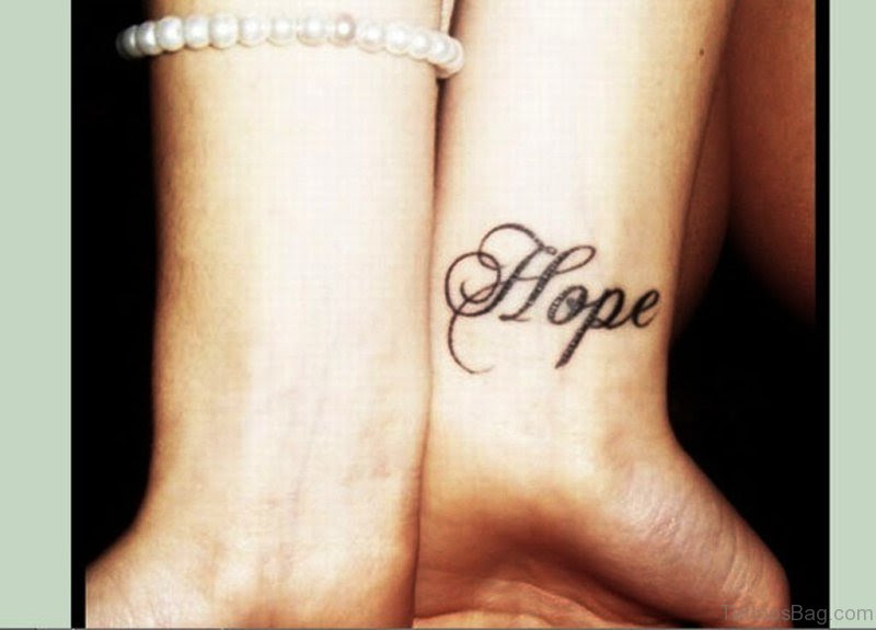52 Excellent Hope Tattoos On Wrist