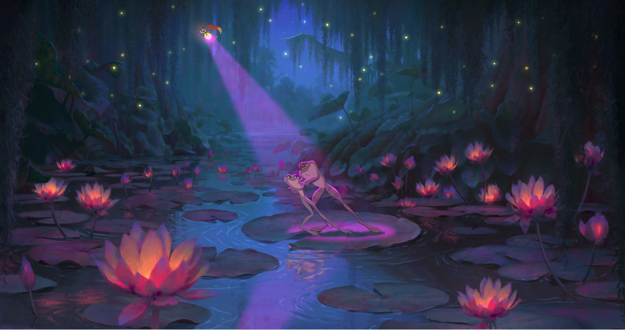 Princess And The Frog Wallpaper 58 Images